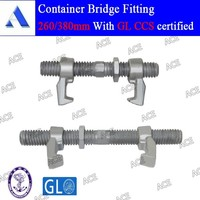 Cheap price casting steel container bridge fitting lashing bridge fitting