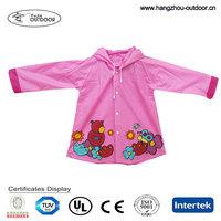 2015 Newest Cheap OEM Waterproof High Quality Kids Raincoat / Rubber Rain Boots