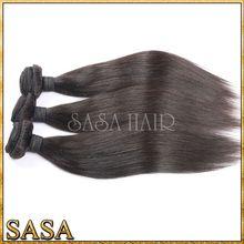 Unprocessed hair virgin one donor 100% indonesian hair from qingdao SASA hair