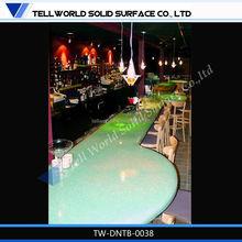 2014 new design wine bar furniture night pub lighted dining table