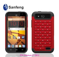Rugged tough hard handphone cover for ZTE Overture 2 Z812 Cricket carrier available