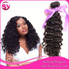 Thick Ends High Quality Wholesale Indian Hair, Double Drawn No Shed Virgin Indian Curly Hair