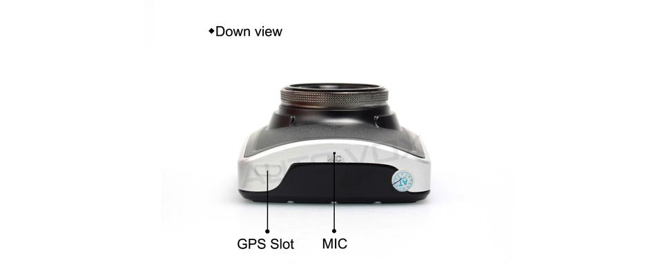 полный высокой четкости 1080p автомобиль записи видео