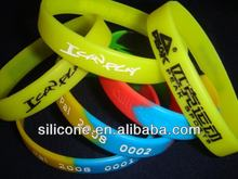 2012 sports bracelet fabric wristband