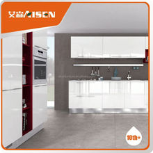 Hot selling factory directly grey lacquer kitchen cabinet