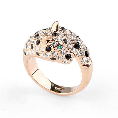 anillo animal de la joyer a de oro forma los hombres del