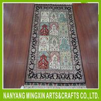 B5 2.5x4ft persian silk prayer handmade red oriental rugs and carpets