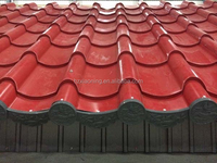 corrugated steel roofing tiles/archaistic metal roof sheet