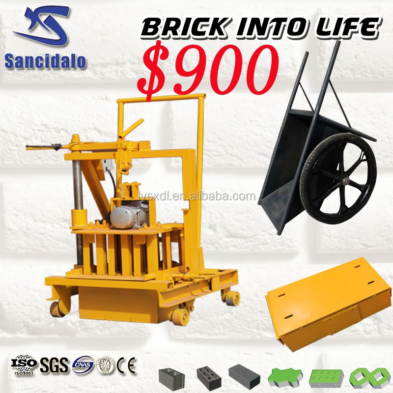 concrete blocks making machine