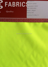 New Arrival EN471 100% Polyester 300D Oxford Fluorescent yellow, Durably Waterproof Workwear Fabric