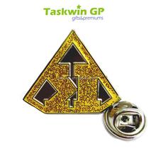 Custom metal pin , taper type 1mm thickness
