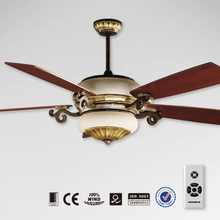 60 inch decorative ceiling fan with wooden blade
