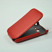leather covered wine bottle case for 6102 samsung android phone
