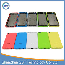 Original for iphone 5c back cover housing replacement ,for iphone 5c battery cover
