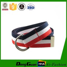 Wholesales custom canvas belt with your logo for europe market