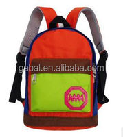 2015 fashion small backpack style nylon primary school bag rucksack