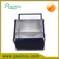 Antique Metal Stainless Steel Ice Box For Break metal ice cooler box