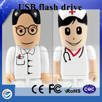 Chinese manufacturers nurse flash drive usb with gift boxes wholesale