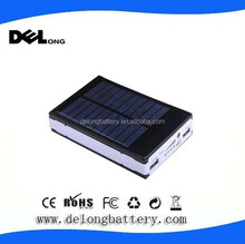 Shenzhen battery factory for 10000mah waterproof solar power bank