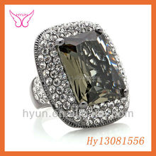 Wholesale Alibaba CUBIC ZIRCONIA STONE RING Direct Factory Price Fashionable Brown ZIRCONIA STONE RING
