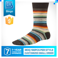 Export Quality Fashion Designs Personalized Cotton Sock Without Spandex