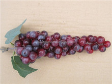 2015 hot selling lifelike Tropical artificial fruit,grape bunch crafts