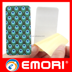 Gift Use Microfiber Cloth PU Foam Adhesive Screen Cleaner & Mobile Stand