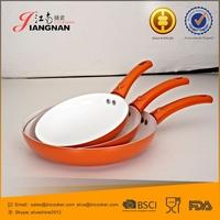 Press Aluminum Thicker Base Provides Even Heat Distribution Ceramic Pan
