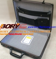 Light hard attaches Aluminum cardboard briefcase