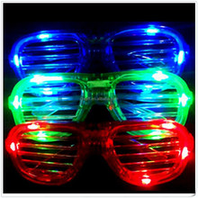 Party Favors LED Shutter Shades Sunglasses