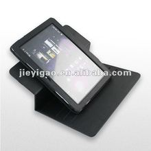 new 360 rotation leather Cover case for Samsung P7500 P7510 Galaxy Tab 10.1 inch