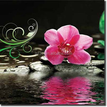 Guangzhou nature deep lenticular 3D flower frameless picture