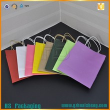 Best price customized tote kraft paper bag manufacturer