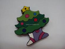 Wholesale Christmas Tree Genuine Capacity 1GB-8GB Bulk Sale USB Flash Drive/Disk/Pendrive Free Shipping
