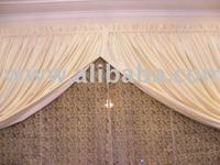 Faux Silk Curtains, Faux Dupioni Silk Drapes with Lining.