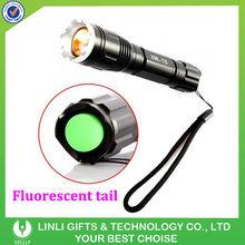 Cree T6 Aluminum Mini Green Led Flashlight