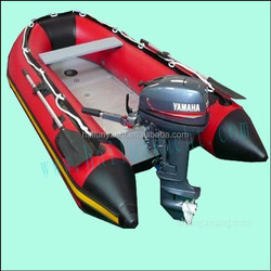 (CE) 3 meters floating boat with inflatable boat outboard motor