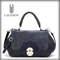 Fashionable lady 2014 season designer leather handbags made in usa