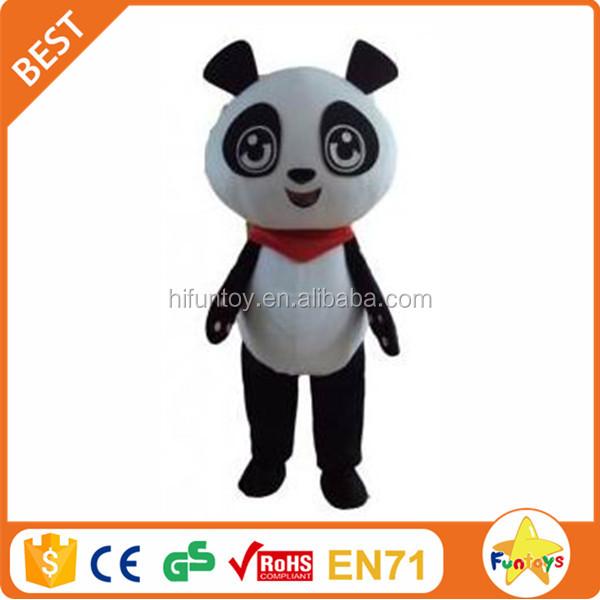 Funtoys CE 귀여운 사용자 정의 만든 팬더 마스코트 의상 상업