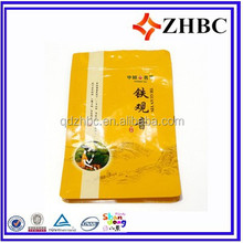 custom printing coffee bag with zipper
