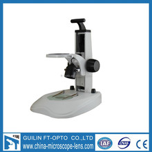 industry adjustable china made digital microscope stand with light source