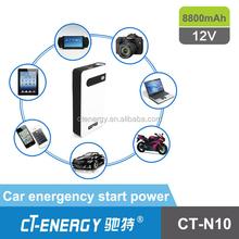 Emergency power bank Mini Car jump starter CT-N10 8800mAh
