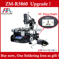Low cost hot air and infrared BGA Rework station ZM-R5860 for laptop/PS3/Mobile motherboard repair
