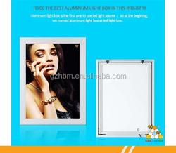 Factory Price Aluminium Led light photo frame,advertising frame, wholesale frame