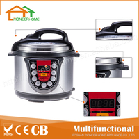 Factory wholesale Stainless Steel housing 900W 5L 9-in-1 multifunction national electric rice cooker