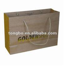 Garment Strong Kraft Paper Packaging Bag