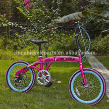 Wholesale cheap custom adult mini folding bike