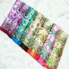 Scarves and shawls in stock