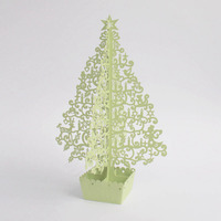 Multi-colored fairy tale tree 3D Laser Cut Pop Up Greeting Cards Birthday Custom Christmas Pary Supplies Gifts 1903