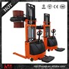 battery powered 2500mm lifting 24V165AH weighing drum truck